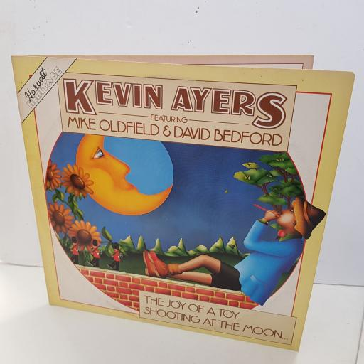 "KEVIN AYERS featuring MIKE OLDFIELD & DAVID BEDFORD the joy of a toy shooting at the moon. 12"" inch vinyl. SHDW407"