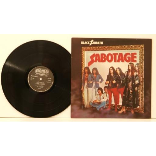 BLACK SABBATH, sabotage 9119001