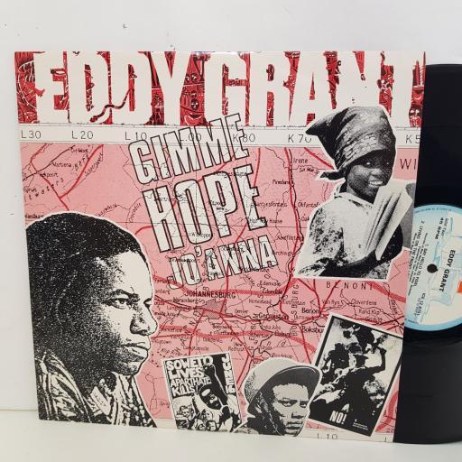 "EDDY GRANT gimme hope Jo'Anna. 3 track 12"" vinyl SINGLE. ICE128701"