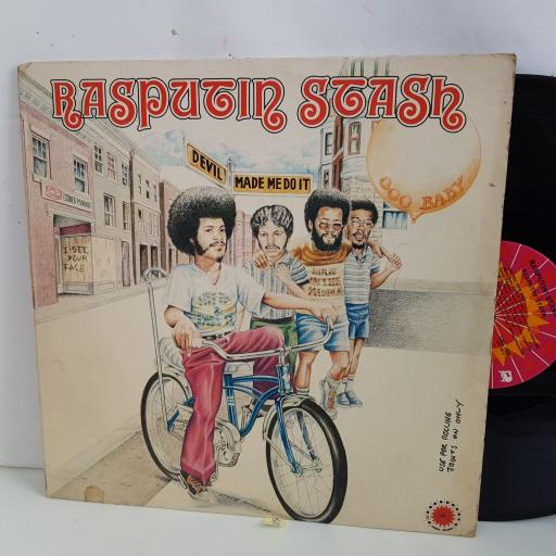 "RASPUTIN STASH Rasputin Stash..devil made me do it. 12"" vinyl LP. GMS1000"