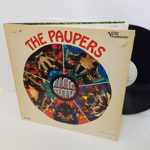 "THE PAUPERS magic people. 12"" vinyl LP. FT3026"
