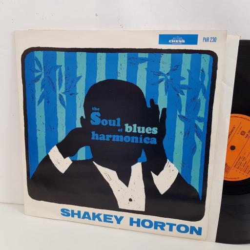 "SHAKEY HORTON the soul blues of harmonica. 12"" vinyl LP. PAR230"