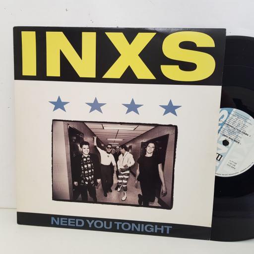"INXS need you tonight. 4 track 12"" vinyl SINGLE. INXS1212"