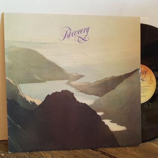 "RUNRIG RECOVERY. VINYL 12"" LP. RR002"