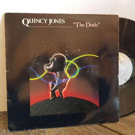"""QUINCY JONES the dude. VINYL 12"""" LP. AMLK63721"""