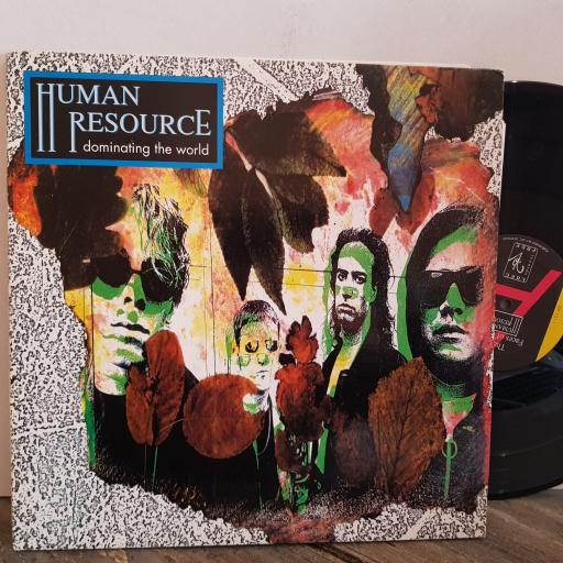 "HUMAN RESOURCE dominating the world. 2 X VINYL 12"" LP. WE666"
