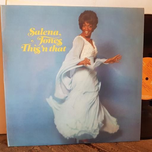 """SALENA JONES this VINYL 12"""" LP. LPL15025"""