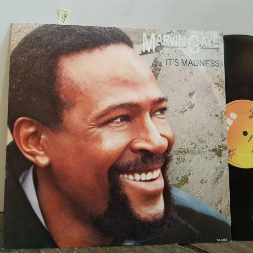 "MARVIN GAYE it's madness. ain't it funny. joy. VINYL 12"" LP. TA6462"