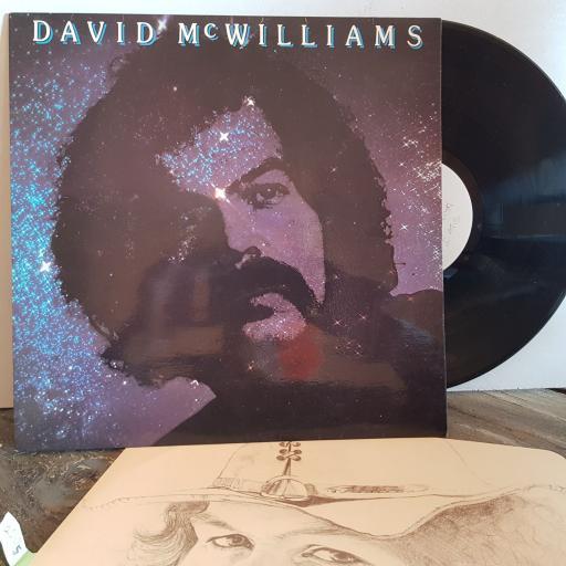 """DAVID McWILLIAMS David McWilliams VINYL 12"""" LP. EMC3169"""