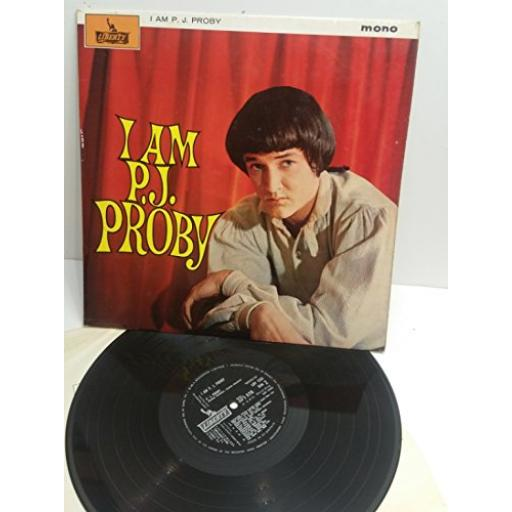 P.J. PROBY I am P.J. Proby MONO LBY1235
