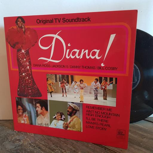 "DIANA! Original TV soundtrack. DIANA ROSS, JACKSON 5, DANNY THOMAS, BILL COSBY. VINYL 12"" LP. STMA8001"