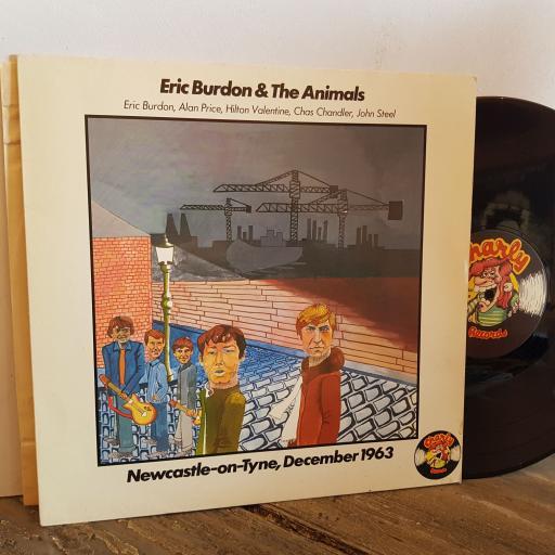 "ERIC BURDON & THE ANIMALS Newcastle -on-Tyne December 1963. VINYL 12"" LP. BBS2514"