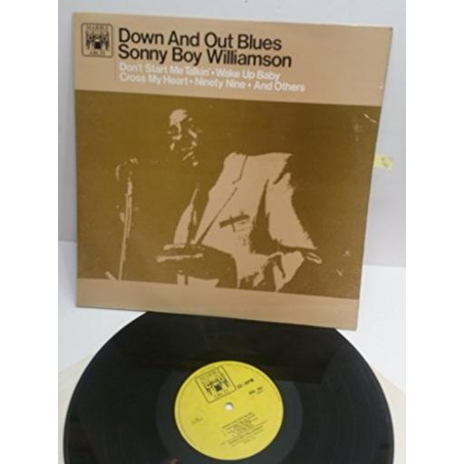 SONNY BOY WILLIAMSON down and out blues MAL662. MONO