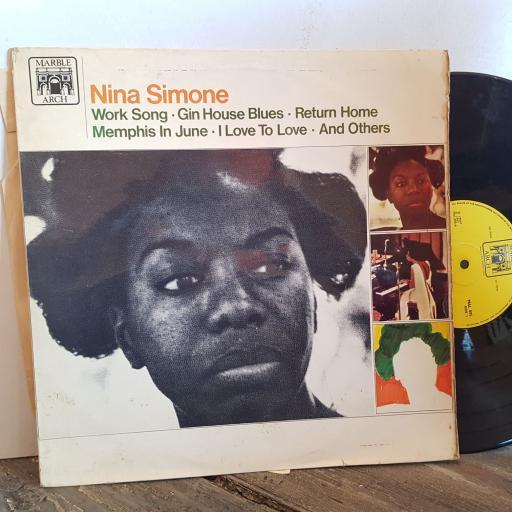 "NINA SIMONE Nina Simone. VINYL 12"" LP. MAL895"