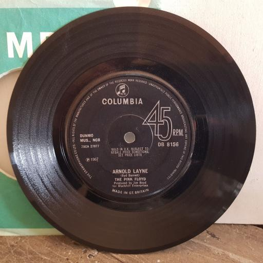 "THE PINK FLOYD arnold lane. candy and the current bun. 7"" vinyl SINGLE. DB8156"