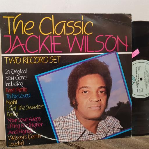 "JACKIE WILSON The classic Jackie Wilson. VINYL 12"" LP. JAK101"