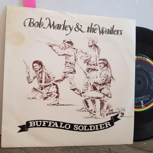 "BOB MARLEY and the WAILERS buffalo soldier. 7"" vinyl SINGLE. IS108"