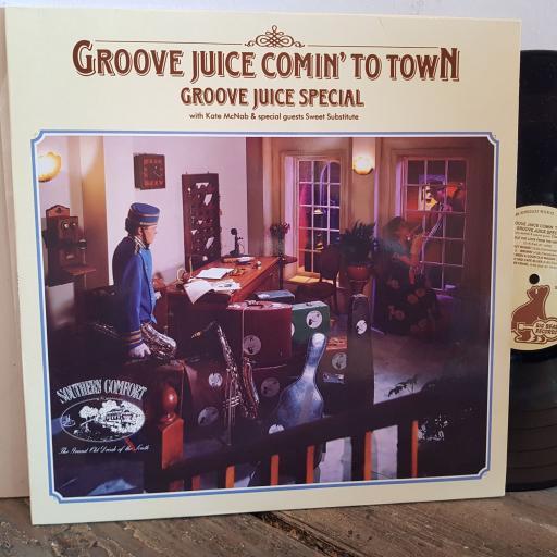 "GROOVE JUICE SPECIAL groove juice comin' to town. VINYL 12"" LP. BEAR29"