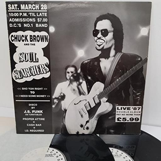 "CHUCK BROWN AND THE SOUL SEARCHERS, MELT LP 3, 4 x 12"" VINYL LP"