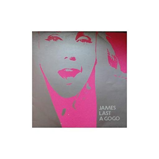 """JAMES LAST - james last a gogo. 643304, 12""""LP, orange label with black font"""