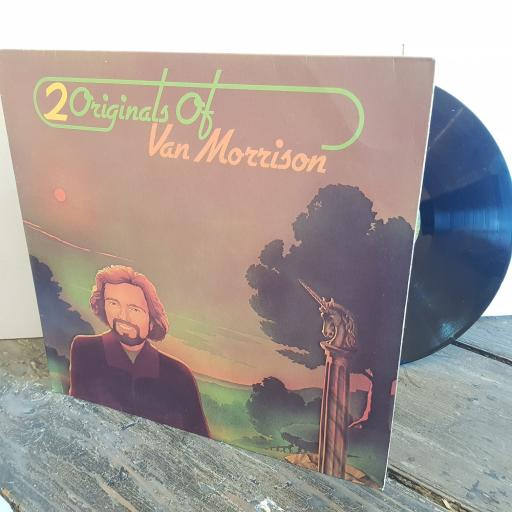 "2 ORIGINALS OF VAN MORRISON His band and the street choir. Tupelo Honey. VINYL 12"" LP. WB86009"