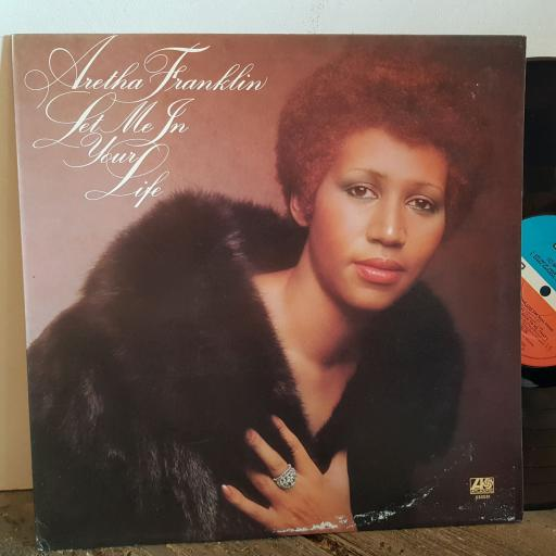 "ARETHA FRANKLIN let me in your life. VINYL 12"" LP. K50031"