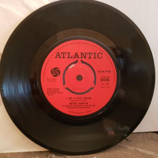 "ARETHA FRANKLIN I say a little prayer. see-saw . 7"" vinyl SINGLE. 584206"