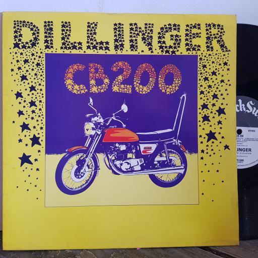 """DILLINGER CB200 12"""" vinyl LP. ILPS9385"""