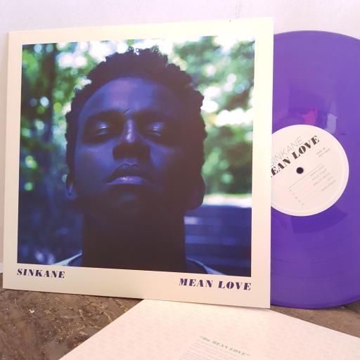 """SINKANE mean love.12"""" PURPLE vinyl LP. SLANG50068LP"""