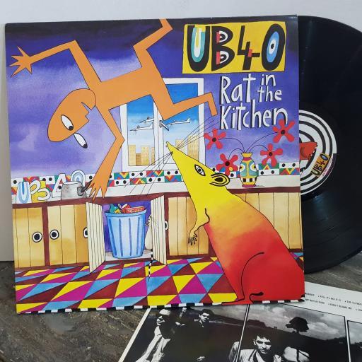 """UB40 rat in the kitchen. VINYL 12"""" LP. LPDEP11"""