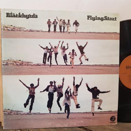 """BLACKBYRDS flying start. VINYL 12"""" LP. F9472"""