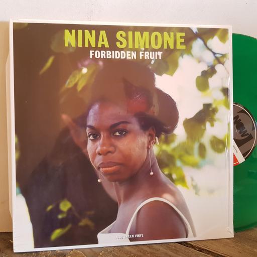 """NINA SIMONE forbidden fruit. 12"""" GREEN VINYL LP. NOTLP252"""