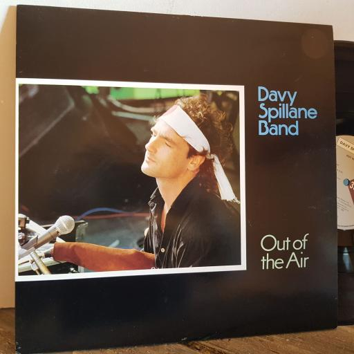 """DAVY SPILLANE BAND out of the air. VINYL 12"""" LP. COOK016"""