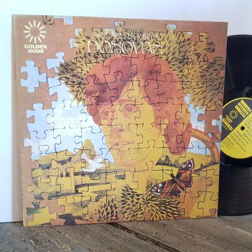 "DONOVAN golden hour of. VINYL 12"" LP. GH5506"