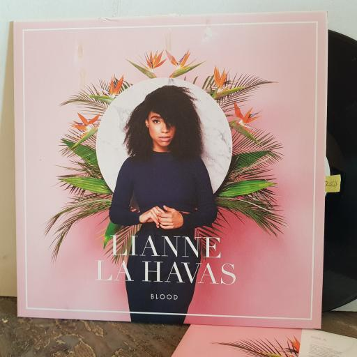"LIANNE LA HAVAS blood. VINYL 12"" LP. 0825646117789"