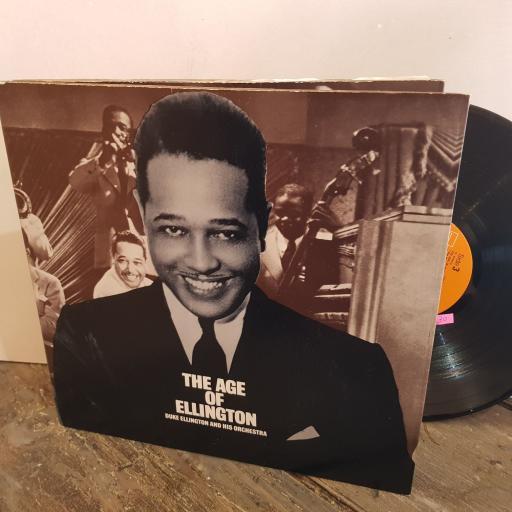 "DUKE ELLINGTON the age of Ellington from 1927 to 1967. VINYL 12"" LP. PL42086"