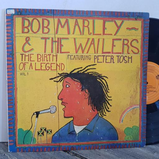 """BOB MARLEY and THE WAILERS featuring PETER TOSH the birth of a legend. VINYL 12"""" LP. EPC82066"""
