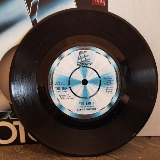 "STEVIE WONDER I wish. you and I. 7"" vinyl SINGLE. TMG1054"