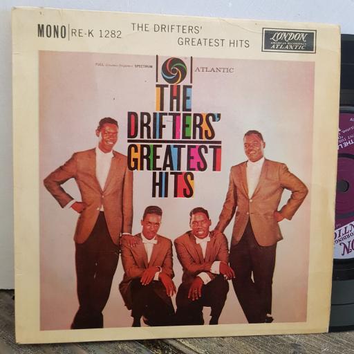 "THE DRIFTERS GREATEST HITS 4 TRACK 7"" vinyl EP. REK1282"