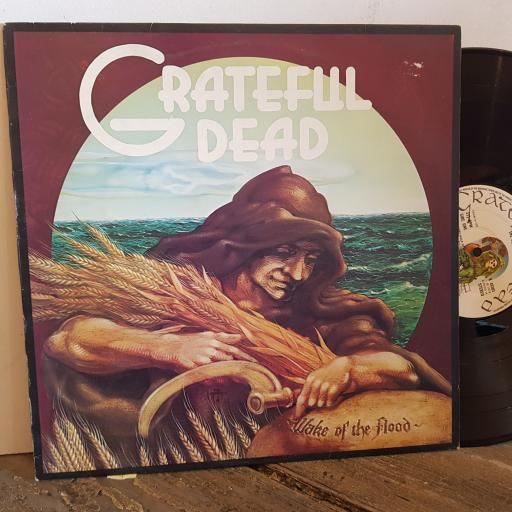 "GRATEFUL DEAD wake the flood. VINYL 12"" LP. K49301"
