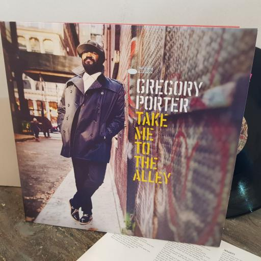 """GREGORY PORTER take me to the alley. 2 X VINYL 12"""" LP. 0602547814456"""