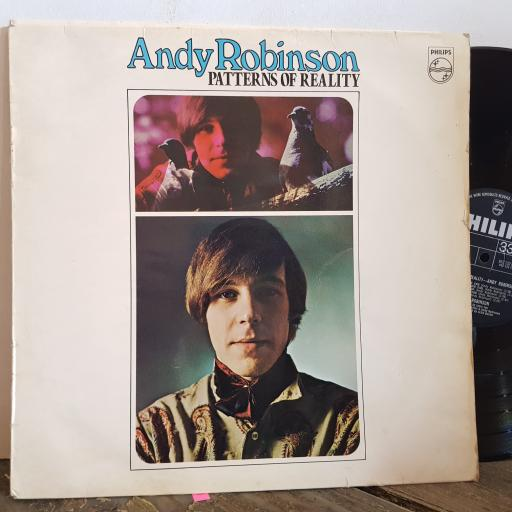 """ANDY ROBINSON patterns of reality. 12"""" VINYL LP. SBL7887"""