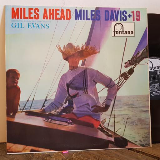 """MILES DAVIS miles ahead + 19 12"""" VINYL LP. TFL5007"""