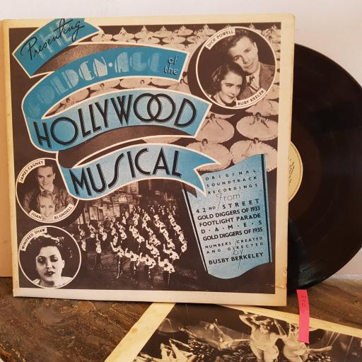 """VARIOUS ARTISTS– The Golden Age Of The Hollywood Musical (Original Motion Picture Soundtracks) VINYL 12"""" LP. UAG 29421"""