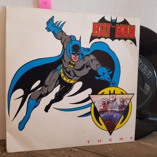 "Neal Hefti BATMAN THEME. HOLY DIPLOMA. BATMAN STRAIGHT A'S. 7"" vinyl SINGLE. PB49571"