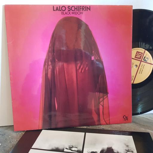 "LALO SCHIFRIN black widow VINYL 12"" LP. SUPER5000"