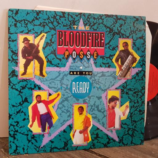 """THE BLOODFIRE POSSE are you ready. VINYL 12"""" LP. 4502091"""