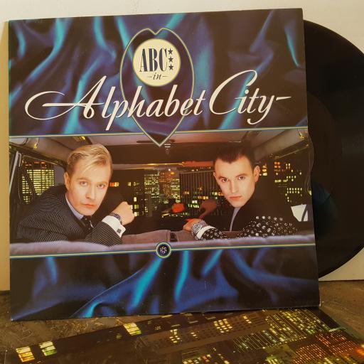 """ABC alphabet city. VINYL 12"""" LP. NTRH4"""