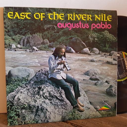 """AUGUSTUS PABLO east of the rive Nile. VINYL 12"""" LP. NO CAT. No"""