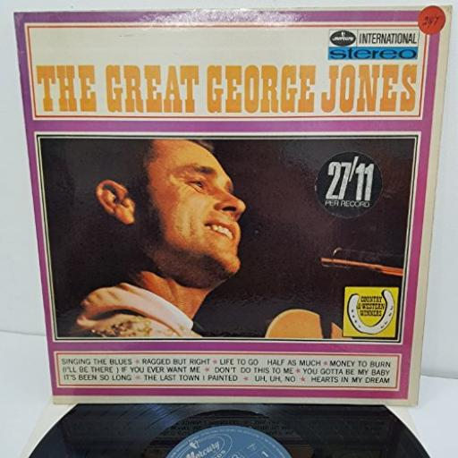 "THE GREAT GEORGE JONES, SMWL21003, 12"" VINYL LP"